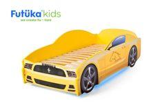 Futuka Kids Postel auto LIGHT F-Mustang, Spodní světlo