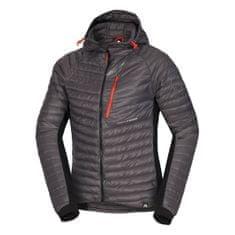 Northfinder Budin muška skijaška jakna, crna-siva