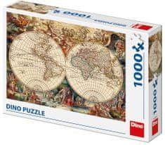 DINO Povijesna karta, 1000 komada