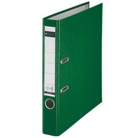 Leitz 1015 registrator, A4, ozek, zelen