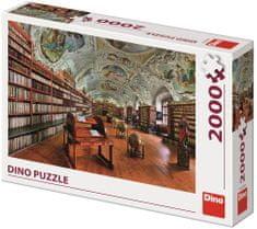 DINO puzzle Klasztor w Strahowie 2000 elementów