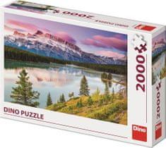 DINO Skalnaté hory puzzle, 2000 dielikov