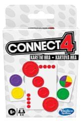 HASBRO Kartová hra Connect 4