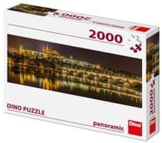 DINO puzzle Most Karola w nocy 2000 elementów