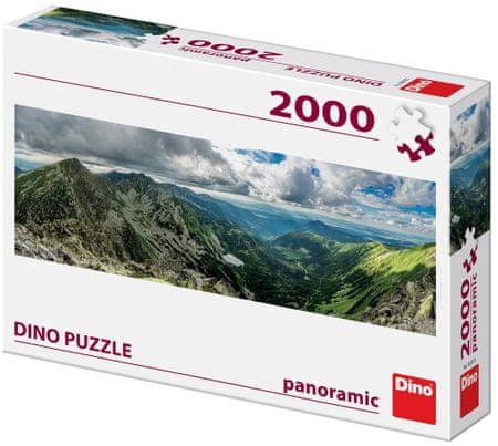 DINO Planine panoramic puzzle slagalica, 2000 dijelova