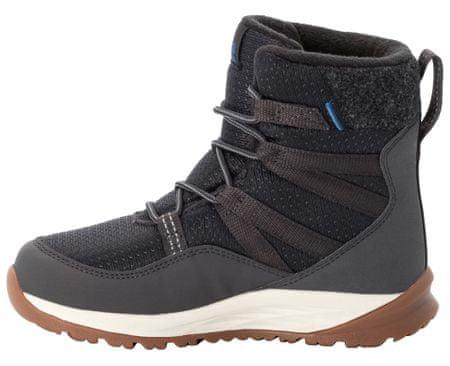 Jack Wolfskin buty dziecięce Polar Bear Texapore High K 4036142-6365 38, ciemnoszary
