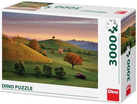 DINO puzzle Bajkowy wschód słońca 3000 elementów