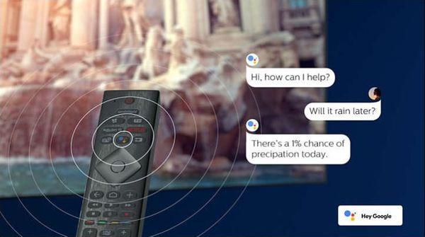 Philips OLED Android 9.0 Pie ovládanie hlasom