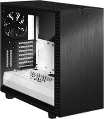 Fractal Design Define 7 Black/White TG Clear Tint
