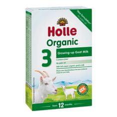 Holle 3 x Bio Dětská mléčná výživa na bázi kozího mléka, pokračovací formule 3