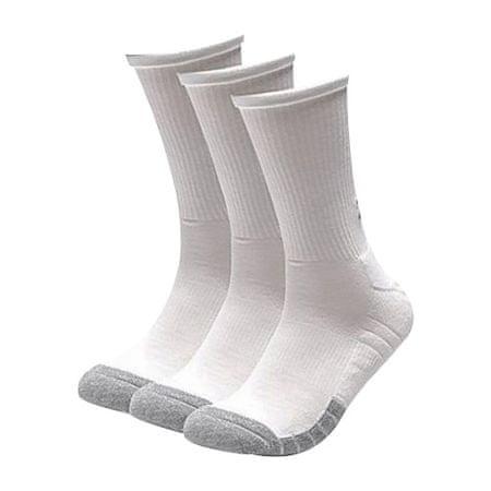 Under Armour Zokni Heatgear Crew-Wht, Férfiak Férfi fehérnemű Férfi zokni fehér XL