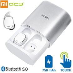 Xiaomi QCY T1 Pro brezžične športne slušalke, TWS, Bluetooth 5.0, bele