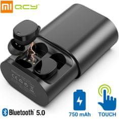 Xiaomi QCY T1 Pro brezžične športne slušalke, TWS, Bluetooth 5.0, črne