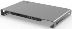 SWISSTEN USB-C HUB DOCK ALUMINIUM 44040104