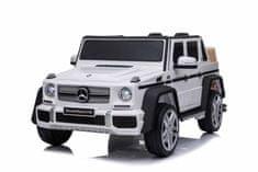 Beneo Elektromos játékautó Mercedes G650 MAYBACH, 12 V, 2,4 GHz távirányító, USB/SD, lengéscsillapított