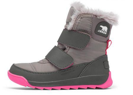 Sorel 1920331052 Childrens Whitney II Strap dekliški zimski čevlji, sivi, 26