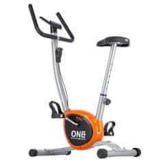 ONE Fitness mechanický rotoped RW3011 strieborno-oranžový