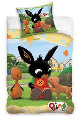 Carbotex Detské obliečky Zajačik Bing Psí kamarát