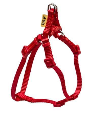 BAFPET ovratnica za psa, enobarvna, rdeča, velikosti M