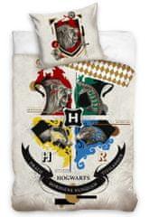 Carbotex Dětské povlečení Harry Potter Erb Bradavic