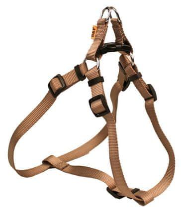 BAFPET ogrlica za pse, jednobojna, smeđa, veličina M