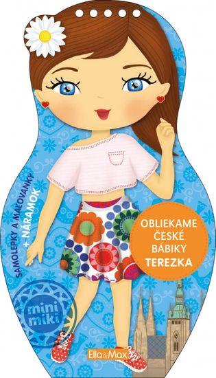 Oblékáme české panenky TEREZKA – omalovánky