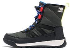 Sorel Youth Whitney II Short L Coal otroški zimski čevlji