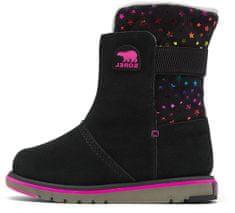 Sorel Youth Rylee BLK Stars Black dekliški zimski škornji