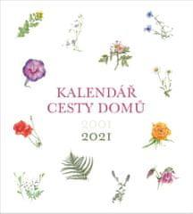 Cesty domů - nástěnný kalendář 2021