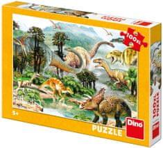 DINO Život dinosaurov 100XL dielikov