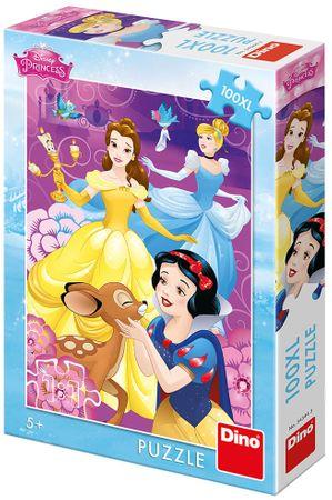 DINO slagalica Disney Princeze na vodi, 100XL