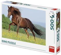 DINO Kôň na lúke 500 dielikov