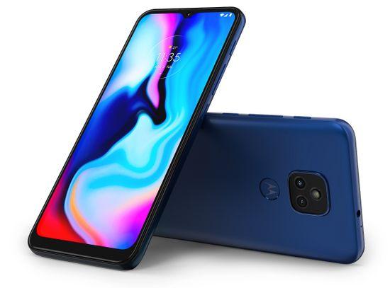 Motorola E7 Plus, 4GB/64GB, Misty Blue