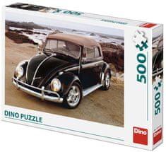 DINO puzzle VW garbus na plaży, 500 elementów