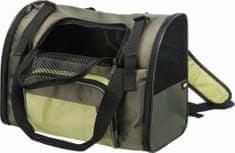 Trixie Transportný batoh/taška SHIVA 41x30x21 cm, zelená