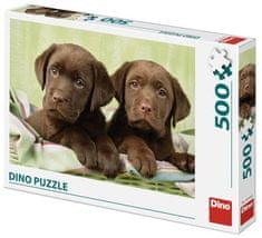 DINO puzzle Labradory, 500 elementów