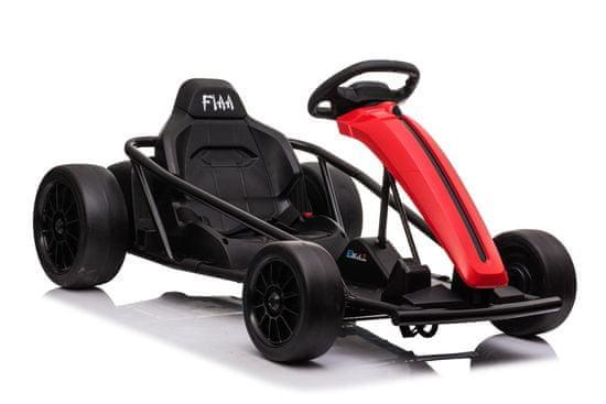 Beneo Driftovacia Motokára DRIFT-CAR 24V, Hladké Drift kolieska, 2 x 350W Motor, Drift režim 13 km/h