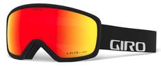 Giro smučarska očala Ringo, črne/rdeče leče