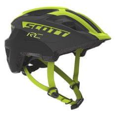 Scott Spunto Jr Plus biciklistička kaciga, dječja, crno-žuta