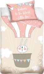Tip Trade Obliečky do postieľky Králik v balóne
