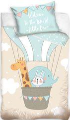 Tip Trade Obliečky do postieľky Zvieratká v balóne