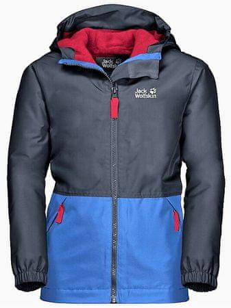 Jack Wolfskin lány kabát SNOWY DAYS JACKET KIDS 1607981-1033, 152, sötétkék