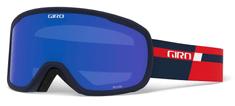 Giro smučarska očala Semi, temno modra/rdeča leča, 2 stekli