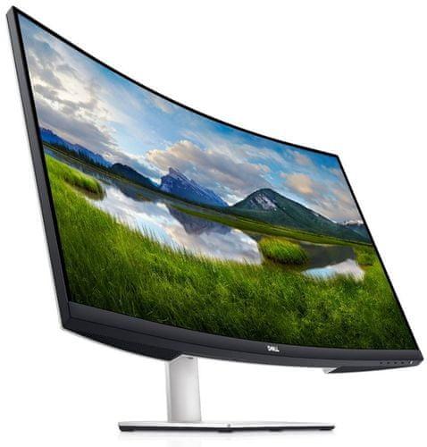 monitor Dell S3221QS (210-AXLH) QHD gaming office multi-tasking