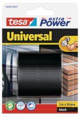 Tesa tesa®Opravná páska Extra Power Universal, textilní, černá, 5m:50mm