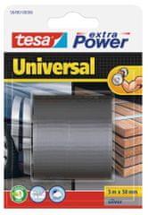 Tesa tesa®Opravná páska Extra Power Universal, textilní, stříbrná, 5m:50mm
