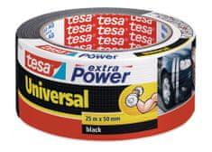 Tesa tesa®Opravná páska Extra Power Universal, textilní, černá, 25m:50mm