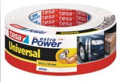 Tesa tesa® Opravná páska Extra Power Universal, textilní, bílá, 50m:50mm