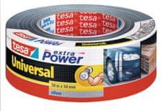 Tesa tesa®Opravná páska Extra Power Universal, textilní, stříbrná, 50m:50mm