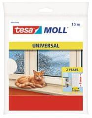 Tesa Univerzálna samolepiaca pena Tesamoll®, izolácia proti prievanu na okná a dvere, na medzery od 1 do 5 mm, dlhá životnosť, 10m:9mm:6mm